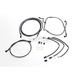 Black Pearl Designer Series Handlebar Installation Kit for use w/18 in.-20 in. Ape Hangers (Non-ABS) - 487683