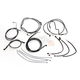 Black Pearl Designer Series Handlebar Installation Kit for use w/15 in.-17 in. Ape Hangers w/ABS - 487692
