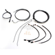 Black Pearl Designer Series Handlebar Installation Kit for use w/18 in.-20 in. Ape Hangers w/ABS - 487693