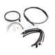 Black Pearl Designer Series Handlebar Installation Kit for use w/15 in.-17 in. Ape Hangers (Non-ABS) - 487772