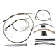 Black Pearl Designer Series Handlebar Installation Kit for use w/12 in.-14 in. Ape Hangers w/ABS - 487781