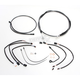 Black Pearl Designer Series Handlebar Installation Kit for use w/12 in.-14 in. Ape Hangers w/ABS - 487791