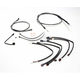 Black Pearl Designer Series Handlebar Installation Kit for use w/15 in.-17 in. Ape Hangers w/ABS - 487792