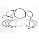 Black Pearl Designer Series Handlebar Installation Kit for use w/15 in.-17 in. Ape Hangers w/ABS - 487802