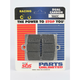 Racing Dual Carbon Brake Pads - 566DCS