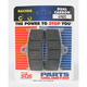 Racing Dual Carbon Brake Pads - 676DCS