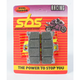 Racing Dual Carbon Brake Caliper Pads - 711DCS
