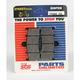 Excel HS Sintered Metal Street Brake Pads - 778HSS