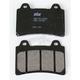 Excel HS Sintered Metal Street Brake Pads - 590HS
