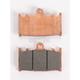 Racing Sintered Metal Brake Pads - 631RSI