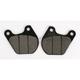 Street Ceramic Brake Pads - 543H