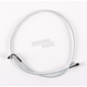 Custom Sterling Chromite II Designer Series 3/8 in./10mm 90 Degree Upper Front Brake Line - 37239