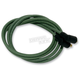 Green Cloth Covered Ignition Wire Kit - GRN-WIRE