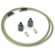 Green/Yellow Cloth 7mm Spark Plug Wires - 000344-5