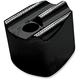 Black Ignition Switch Cover w/Diamond Edge - C1246-D