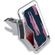 Swingarm Vertical Side-Mount Chrome License Plate w/Taillight - LPF121VT-C