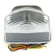 Integrated Taillight w/Clear Lens - TL-0119-IT