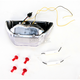 Integrated Taillight w/Clear Lens - TL-0102-IT