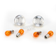 Clear Turn Signal Lenses - WL-0308