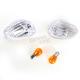 Clear Turn Signal Lenses - WL-0316