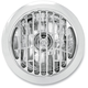 Chrome 5 3/4 in. Grill Visions Headlight - 02072004GRLCH