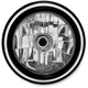 Contrast Cut 5 3/4 in. Merc Visions Headlight - 02072004MRCBM