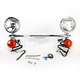 Steel Lightbar/Spotlight Kit - 04-0117A