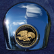 Crown 1.8 Inch Horn Cover Attachment With Support Our Troops 2-Sided Coin - JMPC-HC-THANKTRO