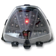 Integrated Taillight w/Clear Lens - MPH-30121C