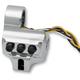 Chrome 4 Button Contour Switch Housing - 0062-2044-CH