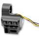 Black 5 Button Contour Switch Housing - 0062-2045-B