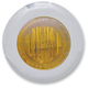 Mini Amber LED Marker Lights with Amber Lens - 402140