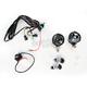 Dual Horizontal Equinox LED Spotlight - B112-SS-04