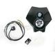 Black 70 Watt Torch X2 Halogen Headlight - 36T2M-70