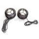Black Mega Spotz High Power Adjustable LED Driving Lights - AHPL-JTD-B