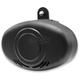 Black Wrinkle Mini-Beast 3 Air Horn - MBAH3-W