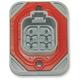 Deutsch DT Sealed 6-Position Header Connector - DTH-06