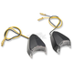 1 1/2 in. X 1 1/2 in. Hooked LED Marker Lights with Black Matte Body - MPH-1235