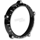 Contrast Cut 7 in. Chrono Headlight Bezel - 0207-2021CRN-BM