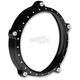 Contrast Cut 7 in.Tracker Headlight Bezel - 0207-2021TRA-BM