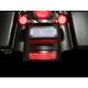 Tri-Bar Dual Intensity LED Fender Tip w/Red Lens - GEN-TRI-1-RED