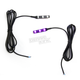 Purple Magicflex Low-Profile 3 LED Accent Lights - MQ3UV
