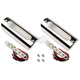 Polished Red LED 1.25 in. X 3.75 in. Engine Guard/Marker Light Kit - 1.25X3.75PR