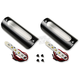 Black White LED 1.25 in. X 3.75 in. Engine Guard/Marker Light Kit - 1.25X3.75BW