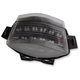 Black Integrated Taillight w/Smoke Lens - MPH-40025B