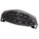Black Integrated Taillight w/Smoke Lens - MPH-40036B