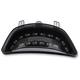 Black Integrated Taillight w/Smoke Lens - MPH-50092B