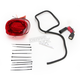 Red Low Profile LED Taillight - GEN2-FL-14-R