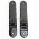 Decadent Black Powdercoat Fusion Turn Signal Eliminator - LA-F490-00B