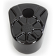 Decadent Black Powdercoat Fusion Ignition Switch Cover - LA-F350-00B